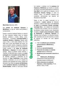 Envio retiro 03-05-06 Castellano quines somos